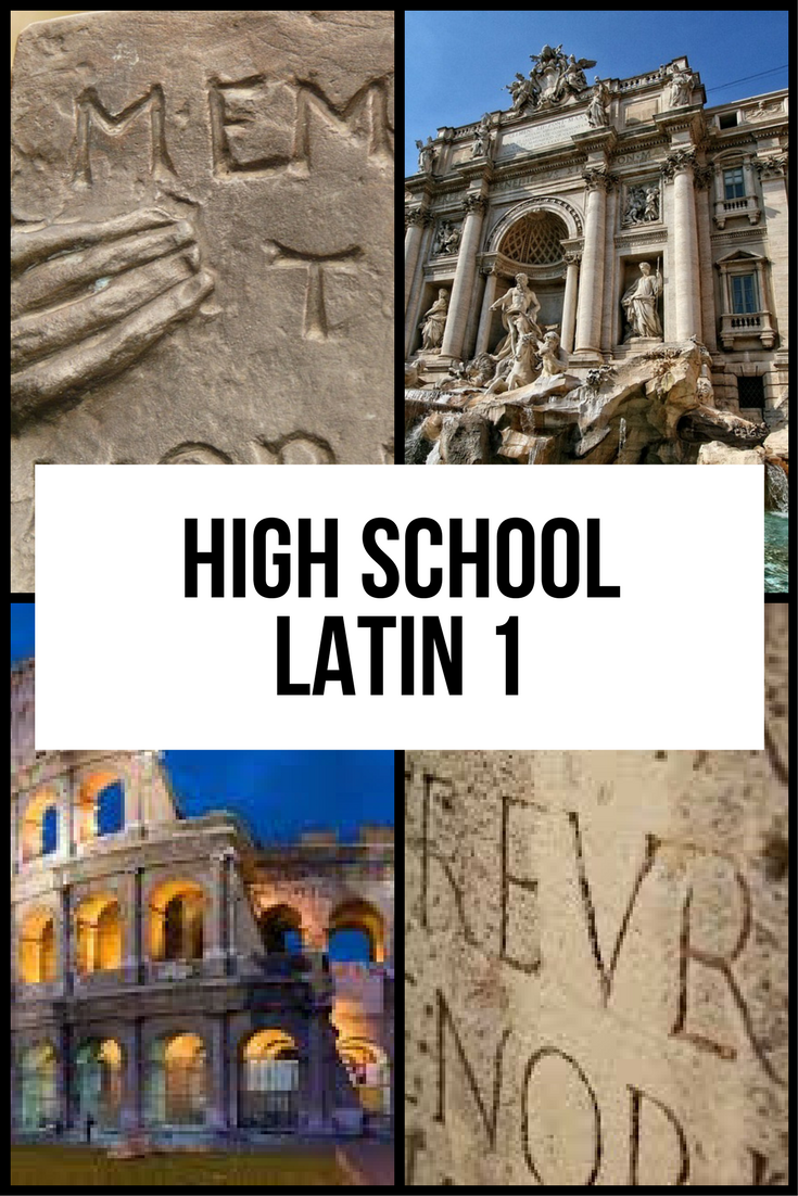 Latin 1 Homeschool High School