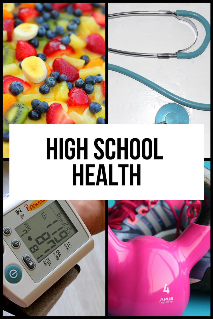 Online homeschool health for high schoolers