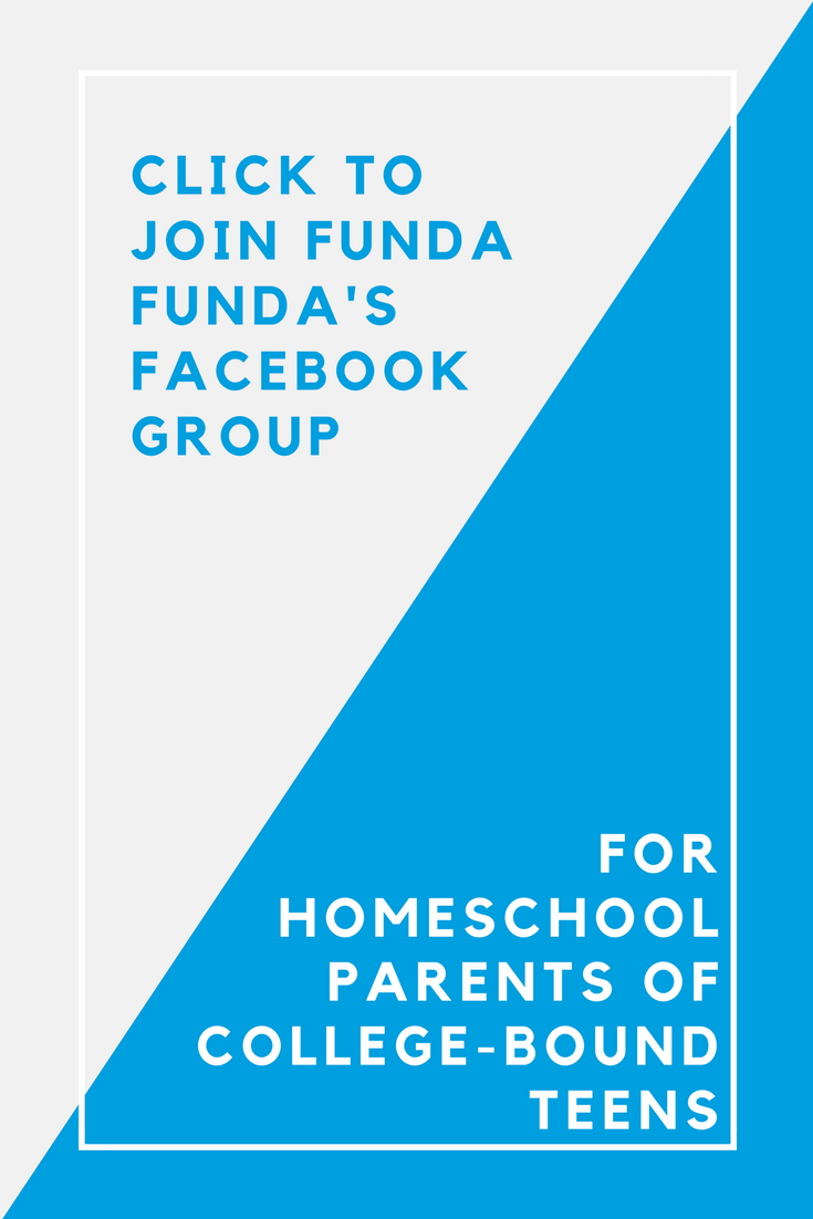 Facebook Group for Homeschoolers with College-bound teens