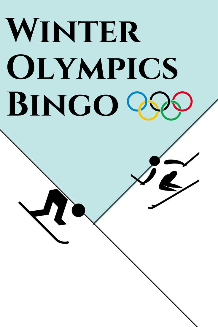 Winter olympics bingo fundafunda academy for Fundafunda