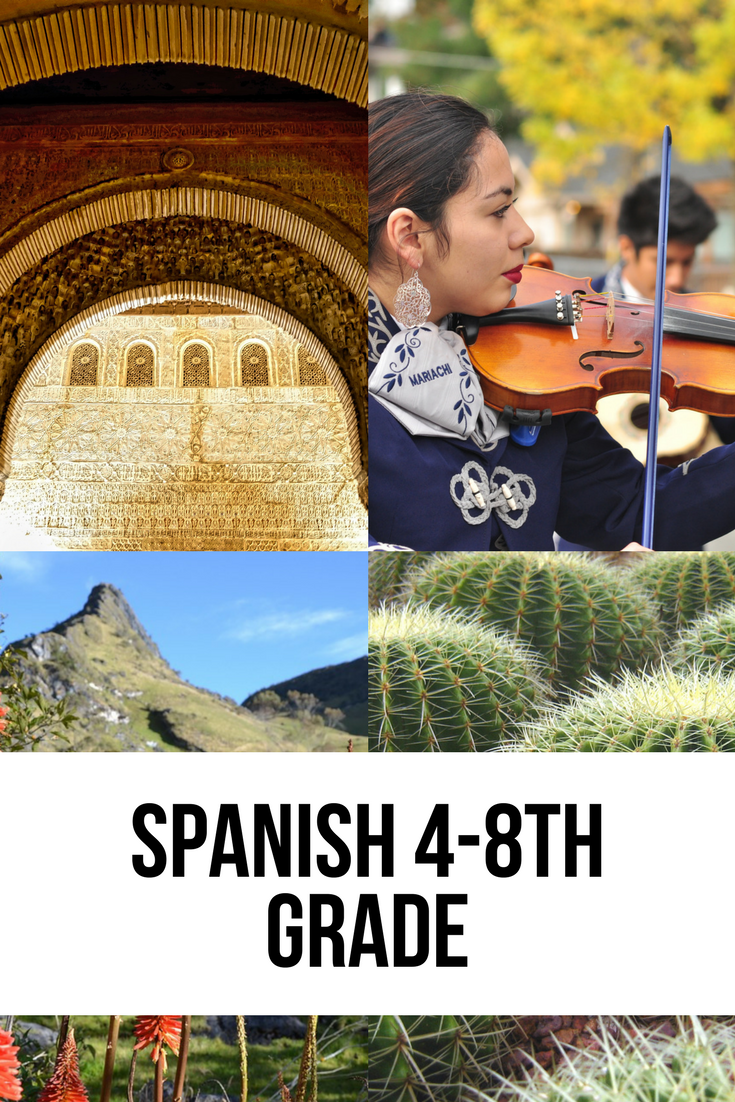 Spanish 4 8th grade fundafunda academy for Fundafunda