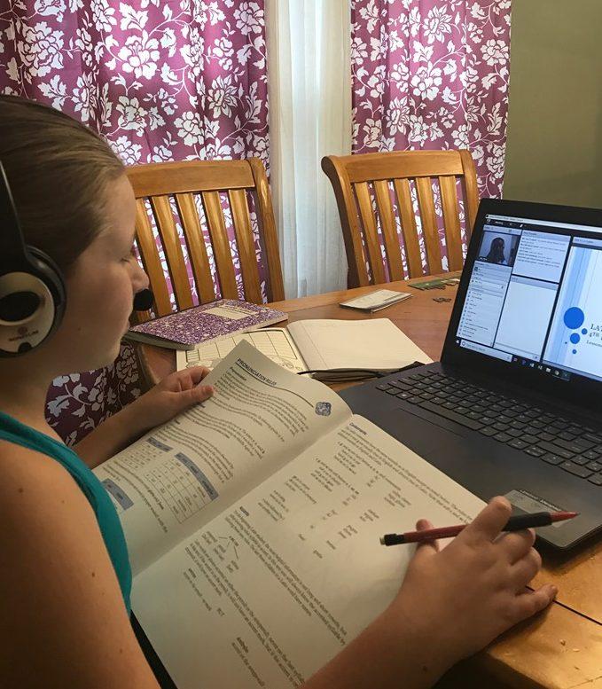 Online Latin class